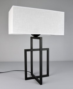Lampa stołowa  CROSS BLACK  2510