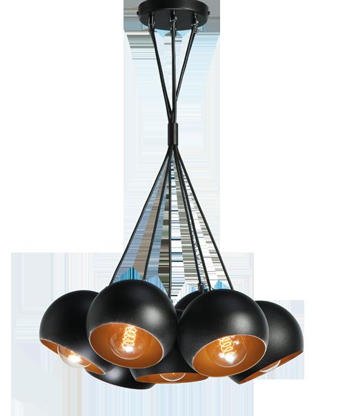 lampy nowoczesne pod metalowe